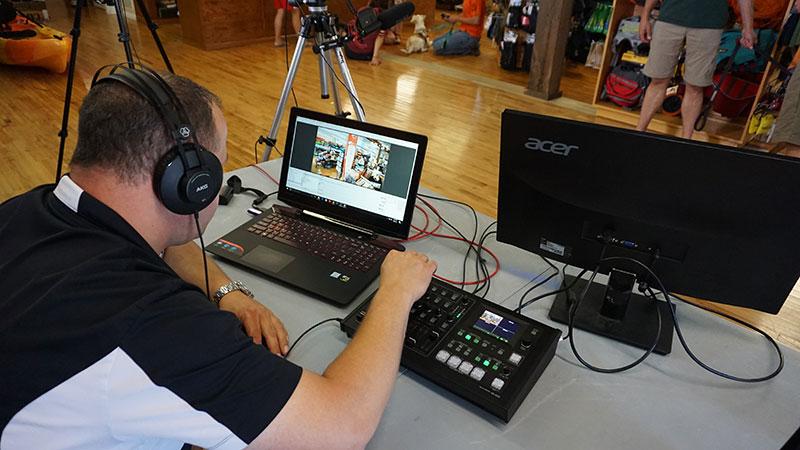 Roland VR-4HD HD AV Mixer at Valere Studios