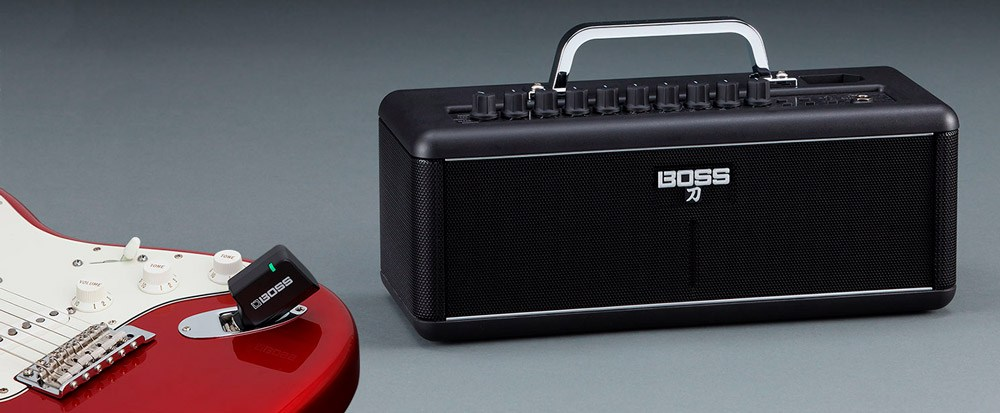 BOSS Katana-Air Wireless Guitar Amplifier.