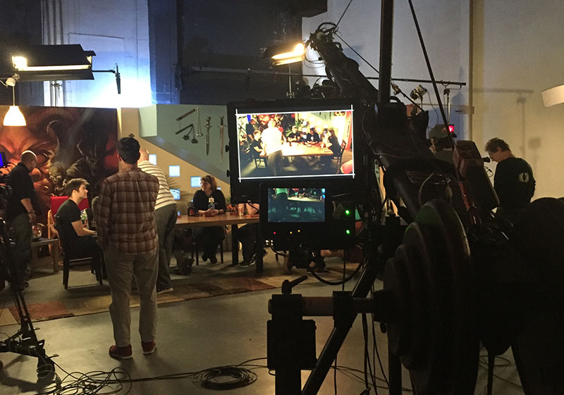 The Dungeons & Dragons Stream of Annihilation event was hosted from The House Studios in Seattle.