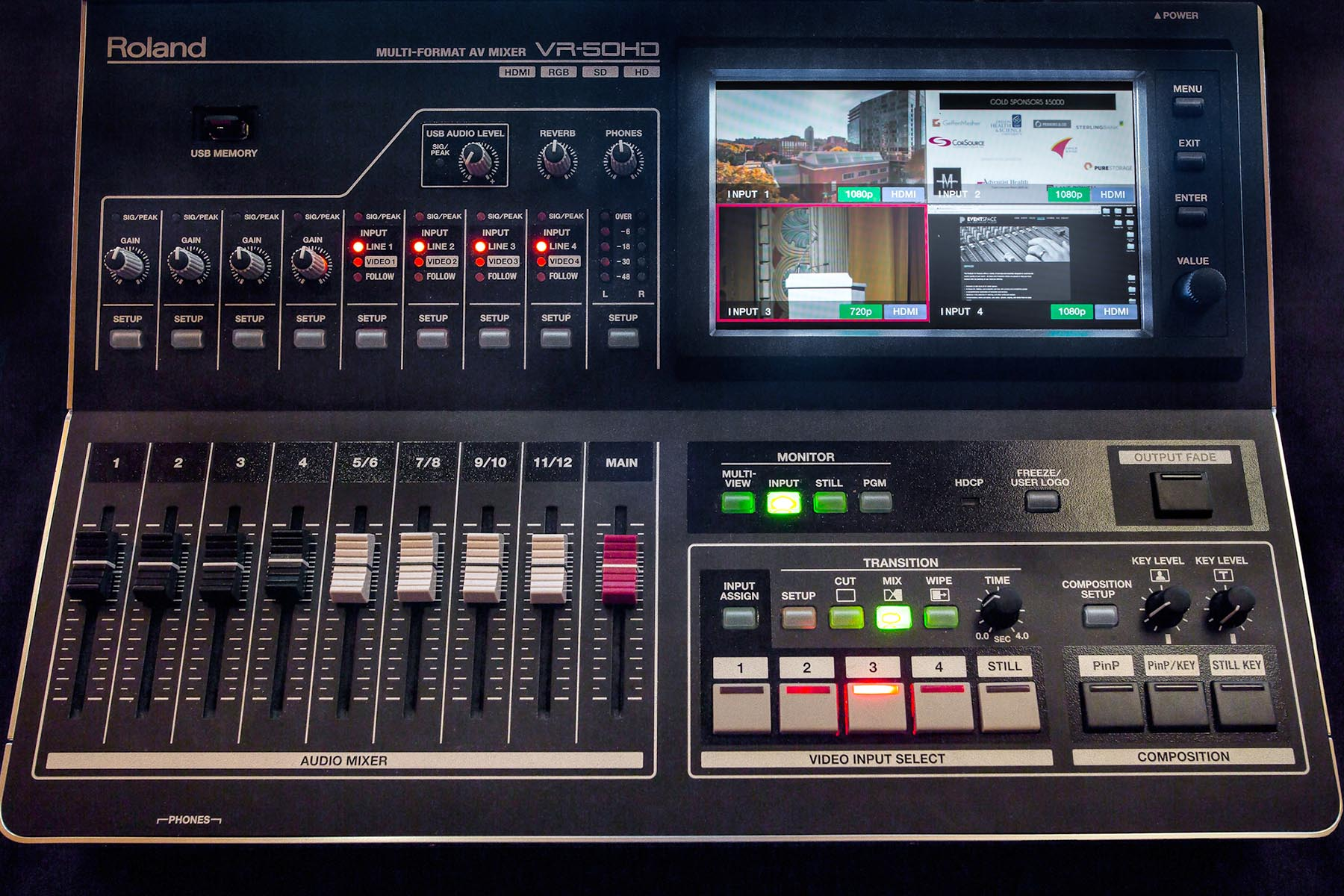 Roland Pro A/V - Solutions - User Stories - Streaming