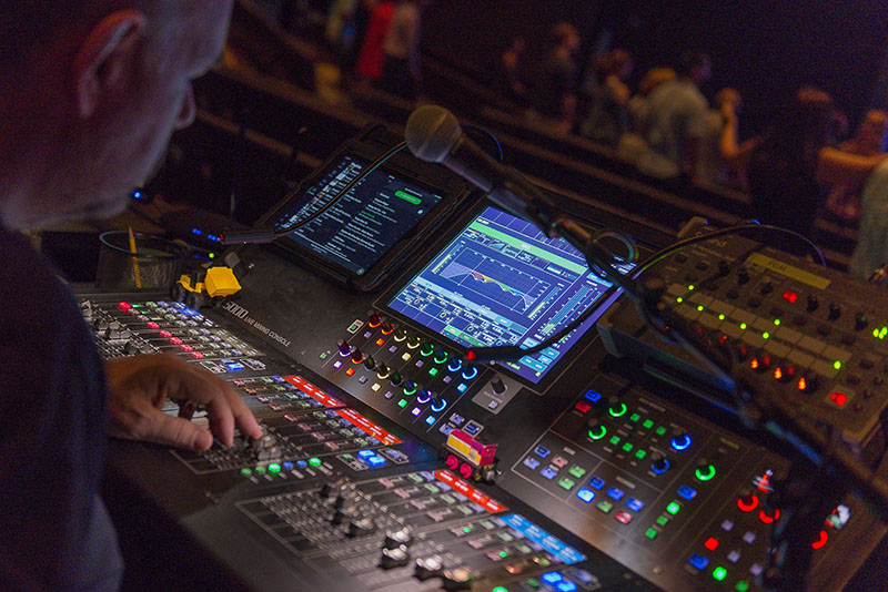 Roland M-5000 OHRCA Live Mixing Console at Eastridge Church