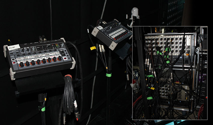 Roland M-48 and S-4000 Digital Snakes at Hungary's TV2.