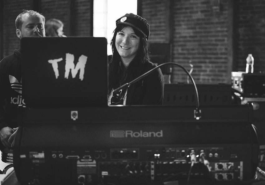 Teresa Murray, FOH and tour manager for Saint Motel