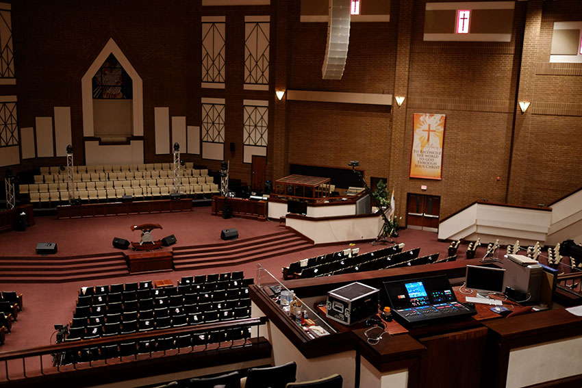 Mt. Zion Baptist Church - Roland M-5000 OHRCA Live Mixing Consoles.