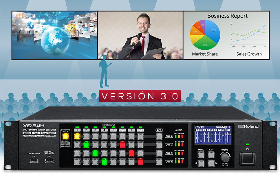 XS Series AV Matrix Switchers Version 3.0