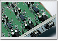 High quality pre-amps on each input channel