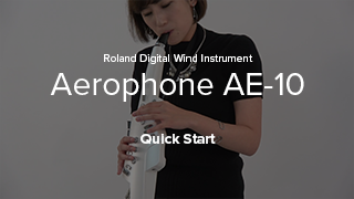 Aerophone AE-10 Quick Start