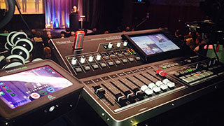 Churchill College presents the Roland VR-50HD