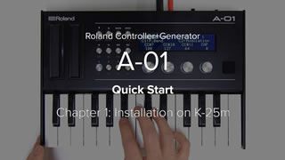 A-01 クイック・スタート・ビデオ