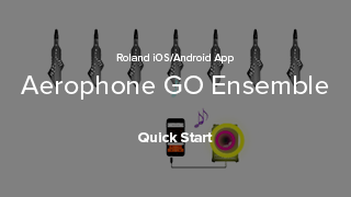 Aerophone GO Ensemble Quick Start