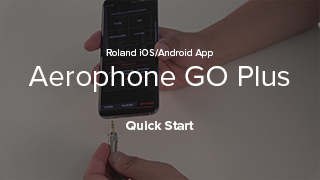 Aerophone GO Plus Quick Start