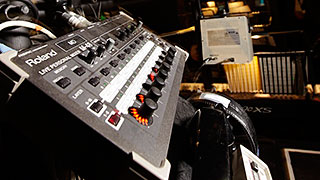 'The Fearless Vampire Killers' take on Roland M-48 Personal Mixers in Paris