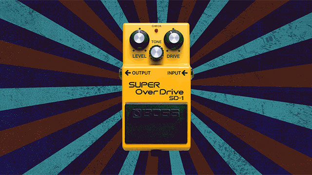 40 Years of the BOSS SD-1 Super Overdrive