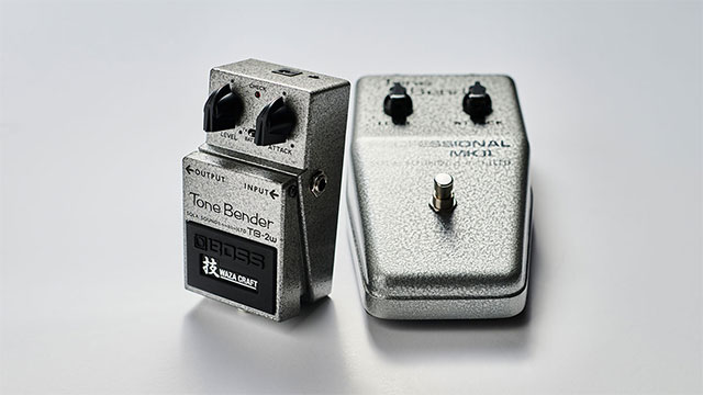 History in the Making: the BOSS TB-2W Tone Bender