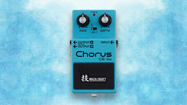 A Chorus of Tones: CE-2W Studio Applications