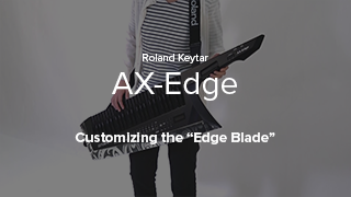 AX-Edge - Customizing the Edge Blade