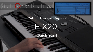 Roland - E-X20 | Arranger Keyboard