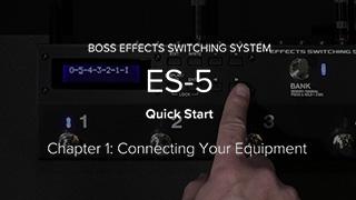 ES-5 クイック・スタート・ビデオ