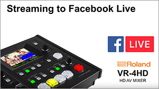 Roland Pro A/V - Solutions - User Stories - Streaming Switchers