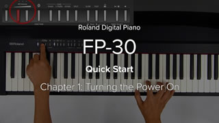 FP-30 クイック・スタート・ビデオ
