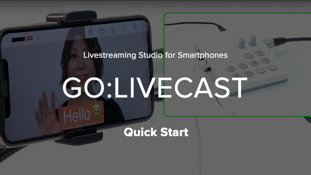 GO:LIVECAST Quick Start
