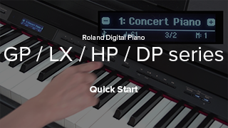 GP/LX/HP Series Quick Start