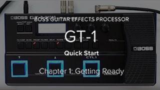 GT-1 クイック・スタート・ビデオ