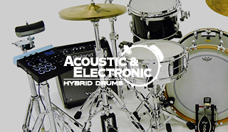 Hybridtrummor