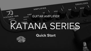 KATANA Series Quick Start Video