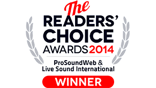 PSW Reader's Choice Awards 2014. Best In-Ear Monitoring System