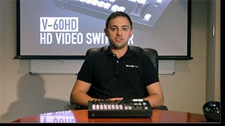 MicroHire Sydney review the Roland V-60HD HD Video Switcher