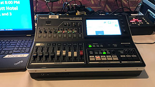 Markey's Relies on Roland's VR-50HD Video Switcher