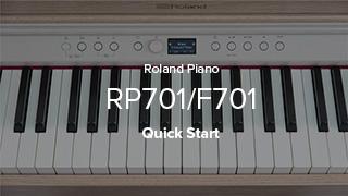 RP701/F701 クイック・スタート
