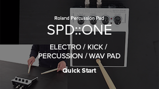SPD::ONE series Quick Start快速入門