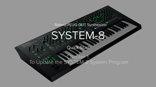 SYSTEM-8 Quick Start