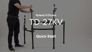 TD-27KV Quick Start
