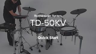 TD-50KV クイック・スタート・ビデオ