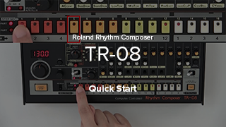TR-08 Quick Start