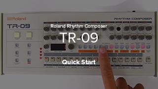 TR-09 Quick Start