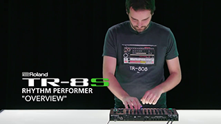 TR-8S Rhythm Performer Overview