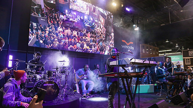 Roland at NAMM: An Ever-Evolving Hybrid Experience