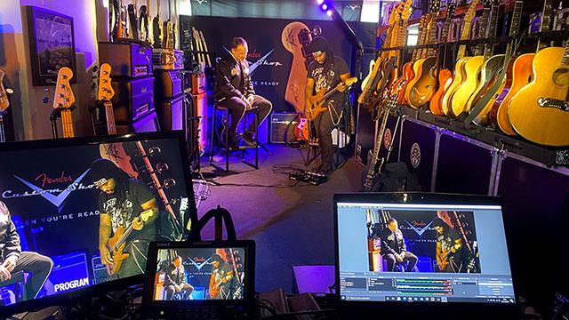 Newloc und RegieTek halten das Live-Business mit Livestreams am Leben
