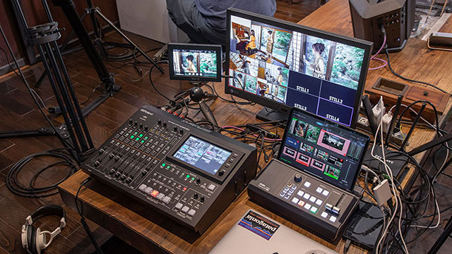 Livestreaming Example: Takumi Sound Starts Streaming Business with VR-50HD MK II