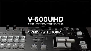 V-600UHD Quick Start