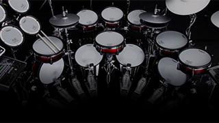 History - Innovation of V-Drums
