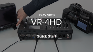 VR-4HD Quick Start
