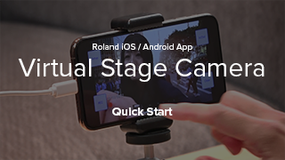 Virtual Stage Camera Quick Start