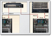 M-300 V-Mixing System with M-300 Monitor/Broadcast Position