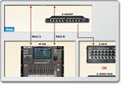 Standard M-380 V-Mixing System with Analog Breakout