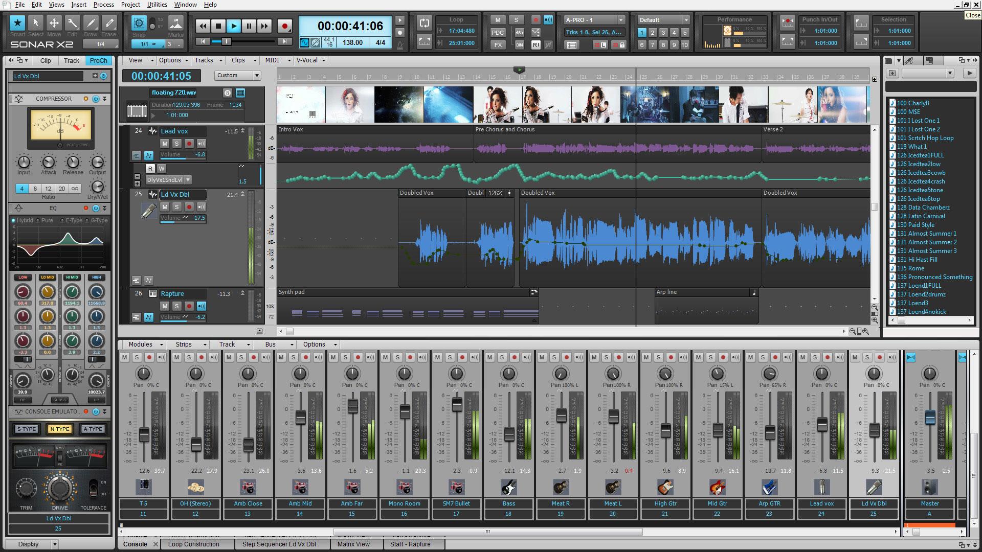 Roland Pro A/V - CAK-X2P-REAC | Cakewalk SONAR X2 Producer